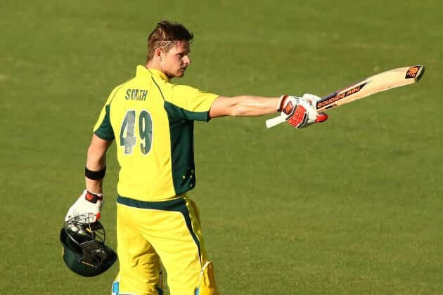 Australia won 1st ODI Australia vs India 2016 ,Steven Smith