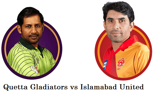 PSL Final Quetta Gladiators vs Islamabad United
