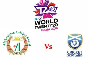 Afghanistan vs Scotland T20 World cup 2016