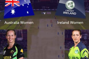 Australia women vs Ireland women