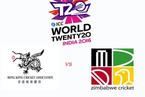Hong Kong vs Zimbabwe T20 World Cup 2016