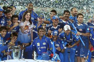 IPL winner team