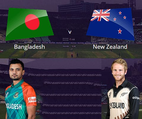 NZ vs BAN T20 World Cup 2016