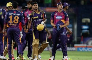 KKR won the Match IPL 2016