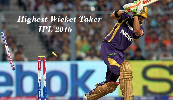 most wickets ipl 2016