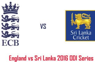 ENG vs SL 2016 ODI Series