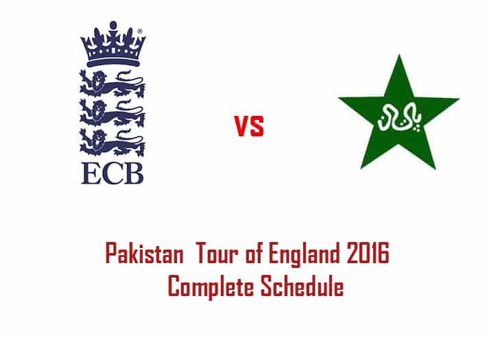 England vs Pakistan 2016