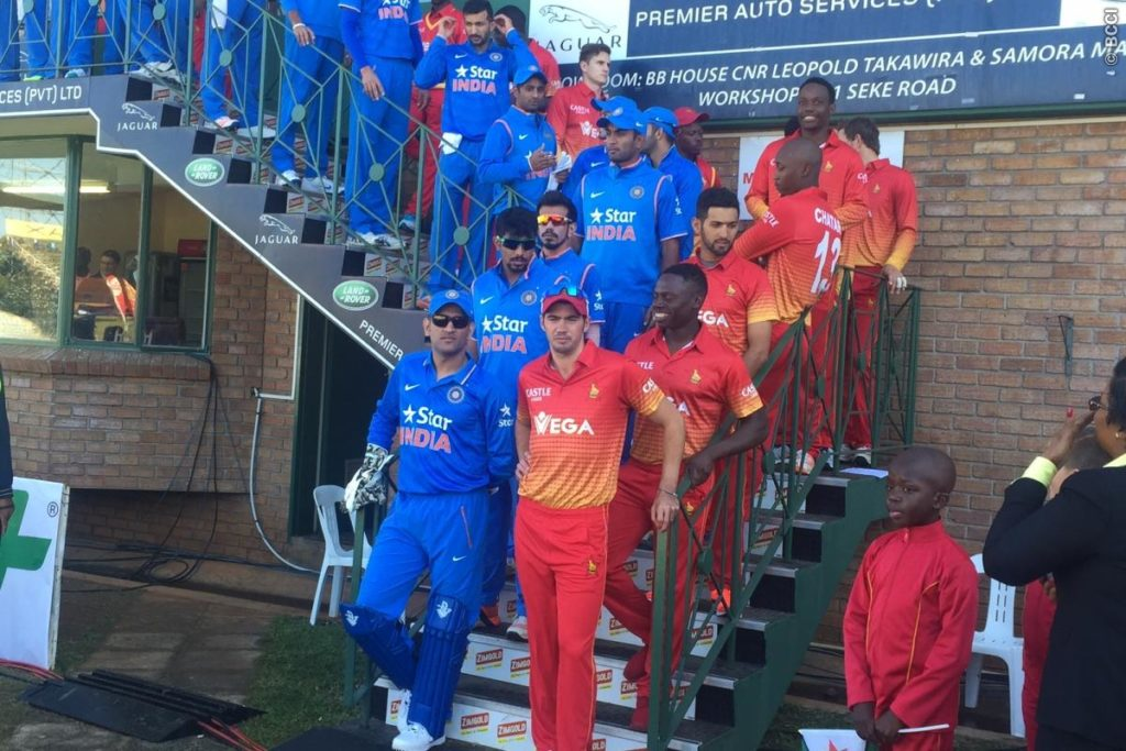 Zimbabwe vs India 2016 2nd ODI