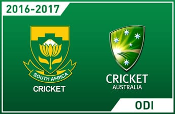 South Africa vs Australia 2016 ODI series