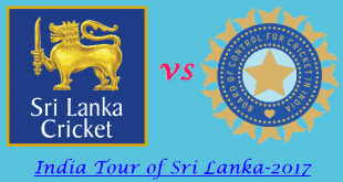 India tour of Sri Lanka 2017 schedule