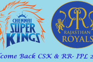 CSK & RR IPL Teams 2018